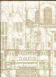 Oxford Wallpaper Facade 2604-21256 By Beacon House For Brewster Fine Decor